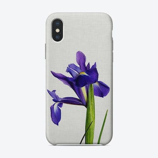 Iris Still Life iPhone Case