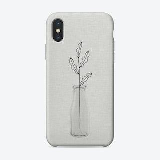 Leaf Still Life iPhone Case