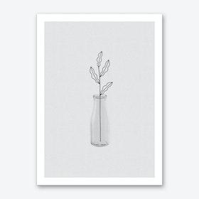 Leaf Still Life Art Print