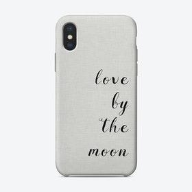 Love By The Moon iPhone Case