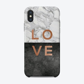 Love Copper iPhone Case