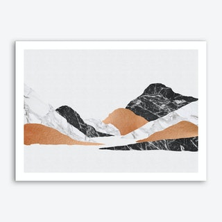 Marble Landscape II Art Print