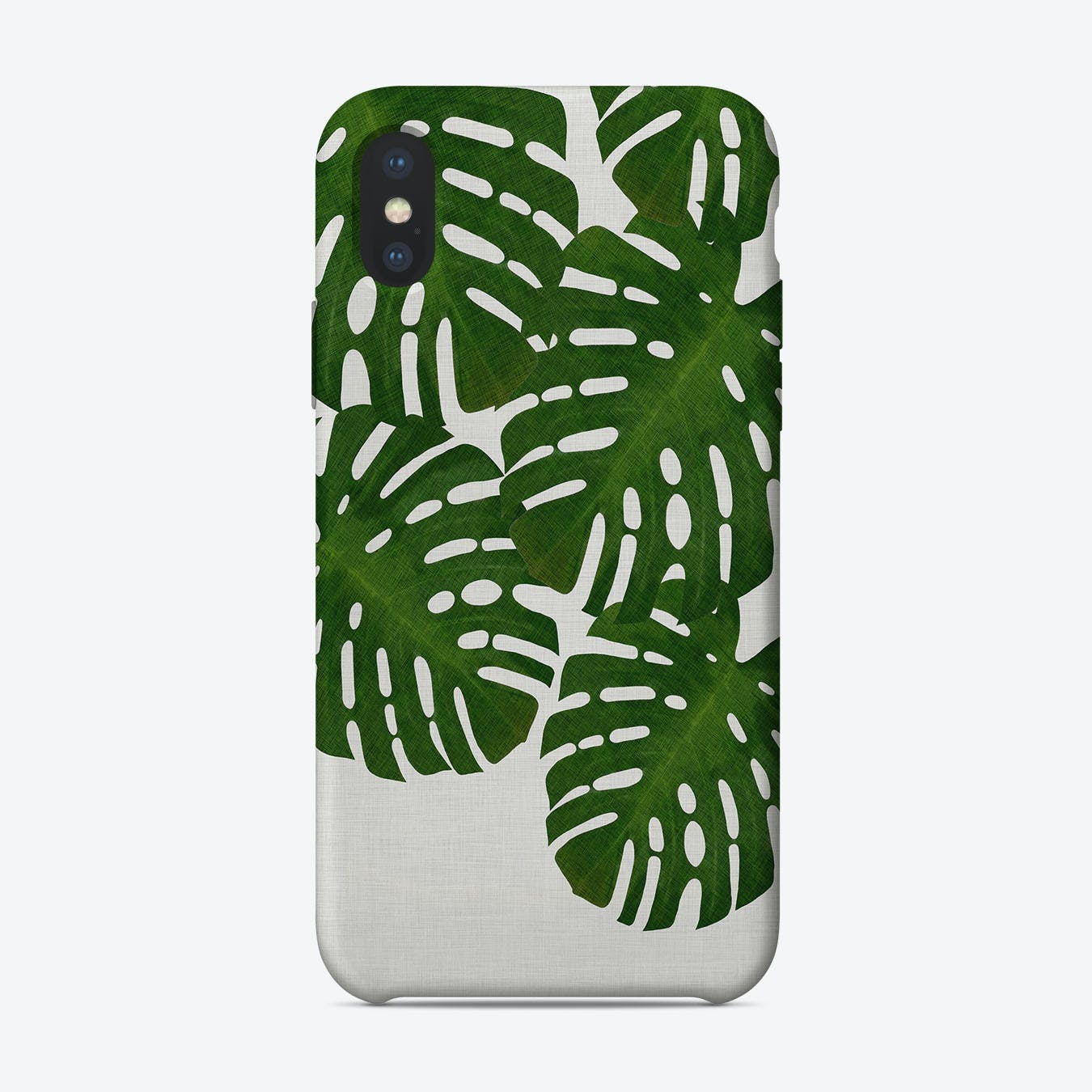 Monstera Leaf I iPhone Case