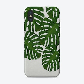 Monstera Leaf I iPhone Case