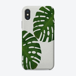 Monstera Leaf II iPhone Case