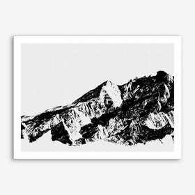 Mountains I Art Print