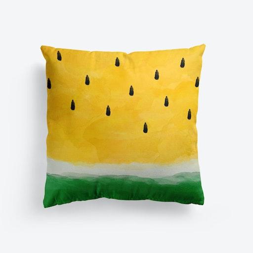 Yellow Watermelon Cushion