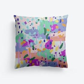 Oil Abstract Cushion