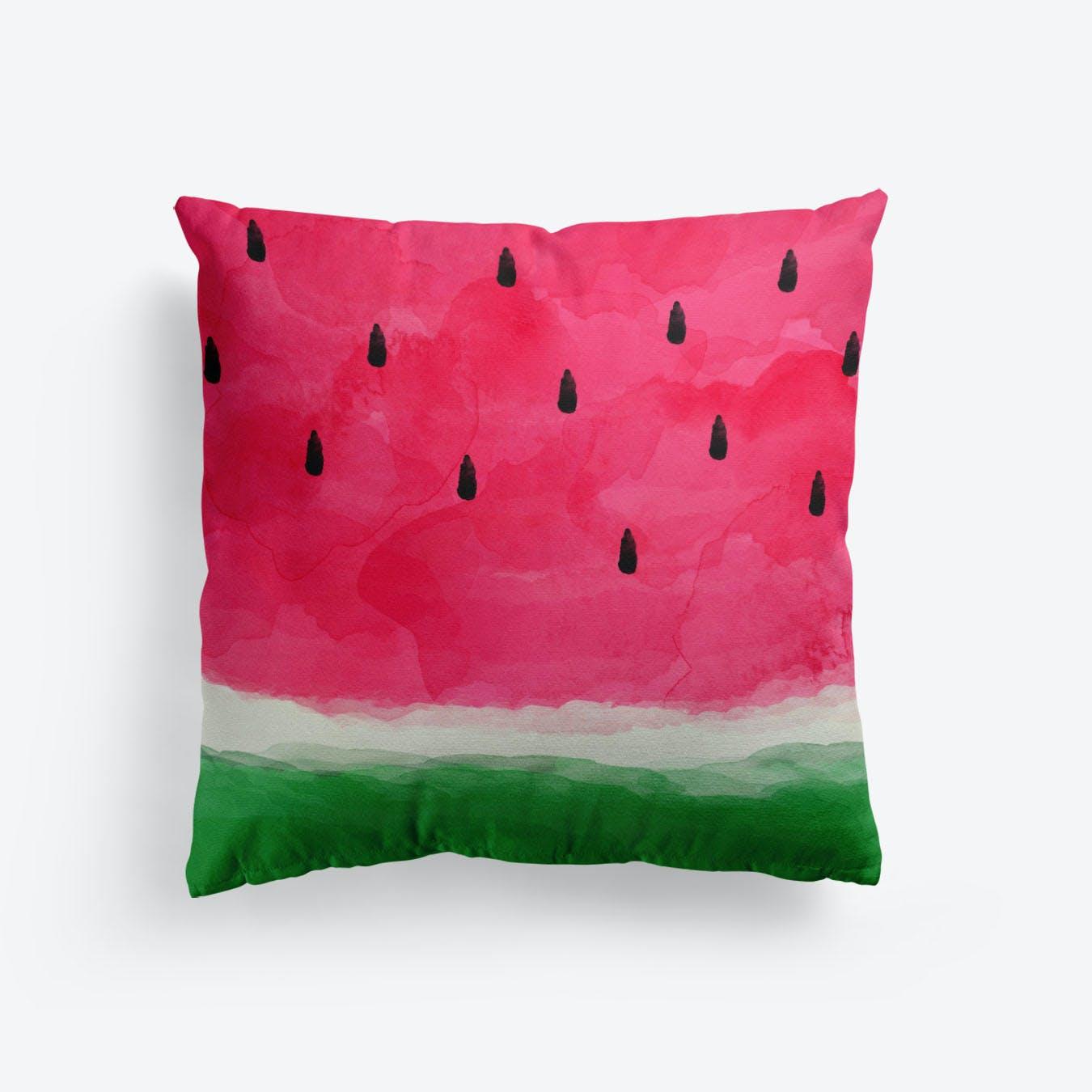 Watermelon Abstract Cushion