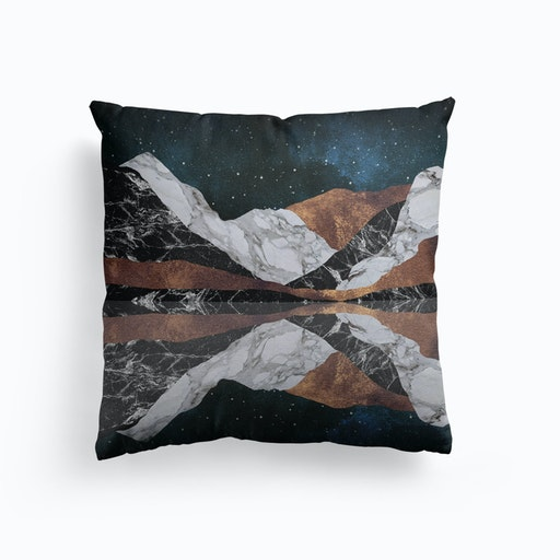 Landscape Mountains Cushion