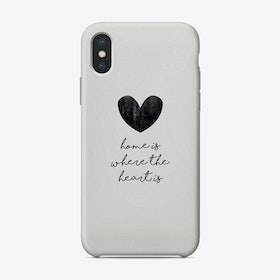 Home Is Where The Heart Is Phone Case
