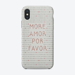 More Amor Rose Gold Phone Case