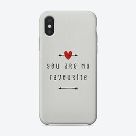 You Are My Favourite Phone Case