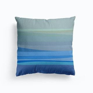 Blue Abstract I Cushion