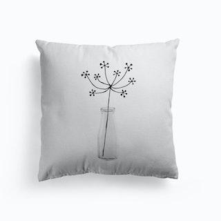 Flower Still Life Ii Cushion