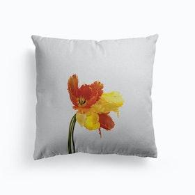 Tulip Still Life Cushion