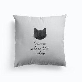 Home Is Where The Cat Is Cushion