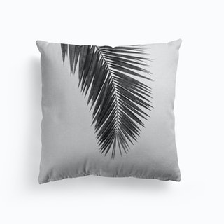 Palm Leaf Black And White I Cushion