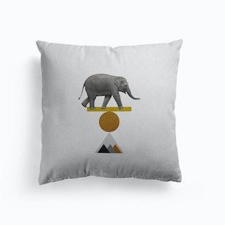 Tribal Elephant Cushion