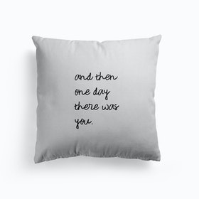 And Then One Day Cushion