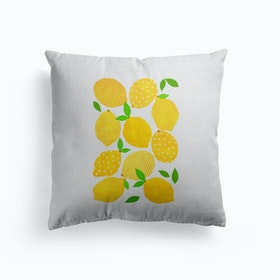 Lemon Crowd Cushion
