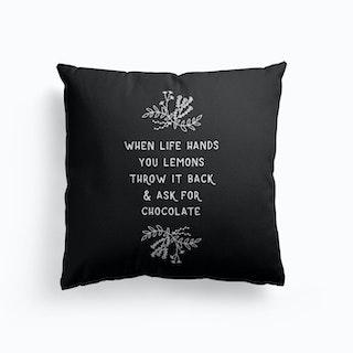 When Life Hands You Lemons Cushion