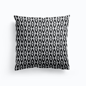 Black And White Abstract I Cushion