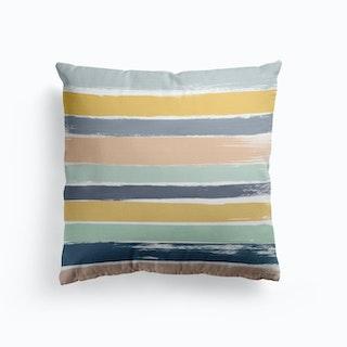 Pastel Stripes Cushion