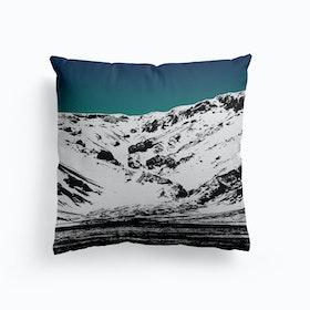 Iceland Mountains Ii Cushion