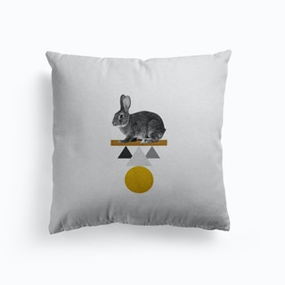 Tribal Rabbit Cushion