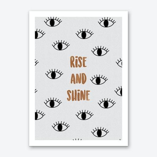 Rise & Shine V Art Print