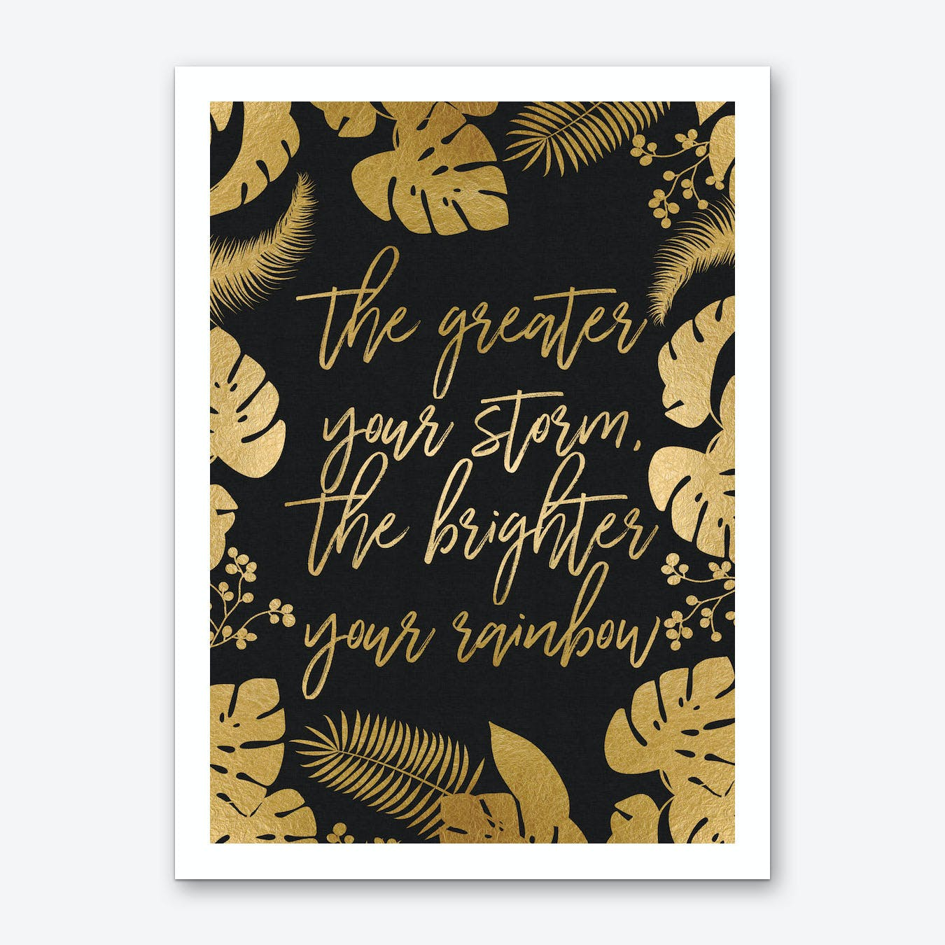 The Great Your Storm Art Print