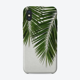 Palm Leaf II iPhone Case