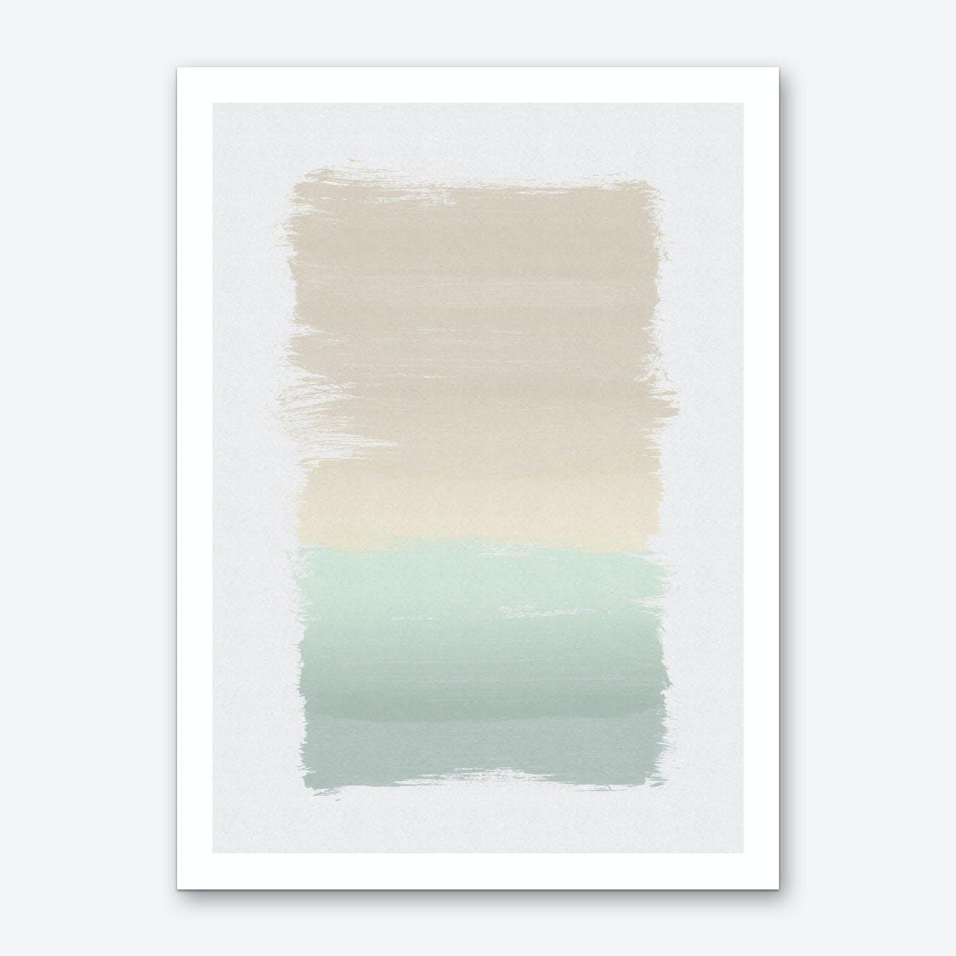 Pastel Abstract Art Print