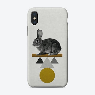 Tribal Rabbit iPhone Case