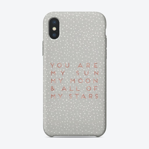 You Are My Sun iPhone Case