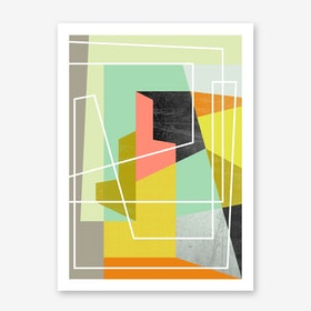 Colour Block II Art Print