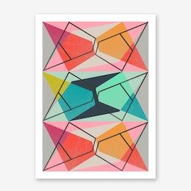 Colour Block III Art Print