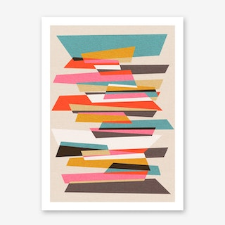 Fragments VII Art Print