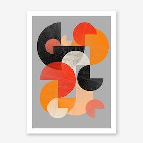 Circles II Art Print