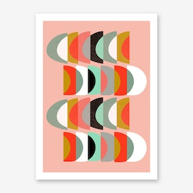 What Colour is the Moon Art Print