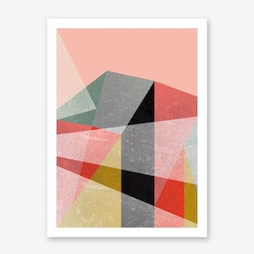 Canvas I Art Print