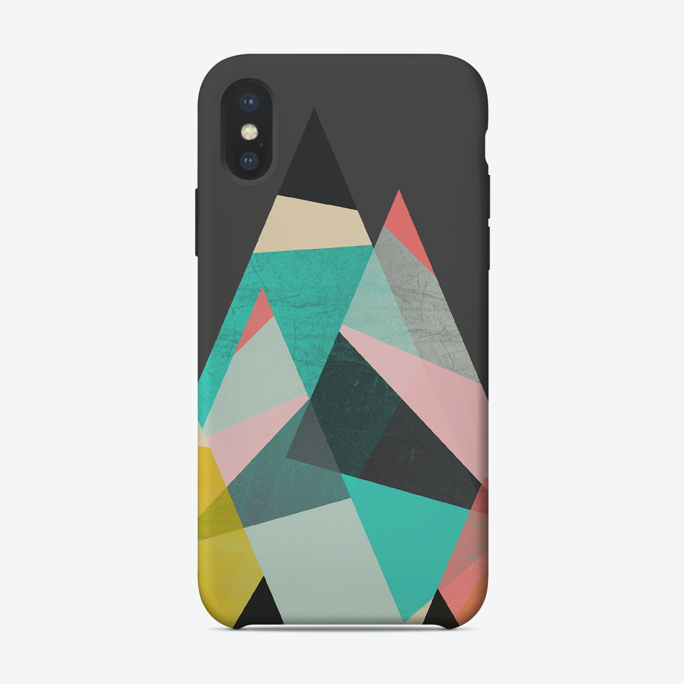 GEO MOUNTAINS iPhone Case