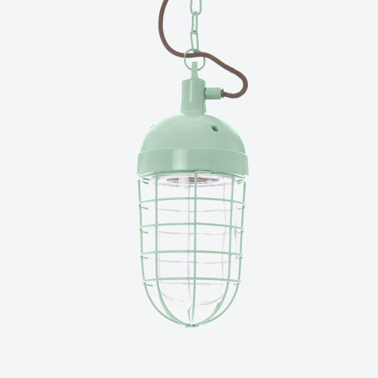 "Pendant Light ""Mining"" In Vintage Green"