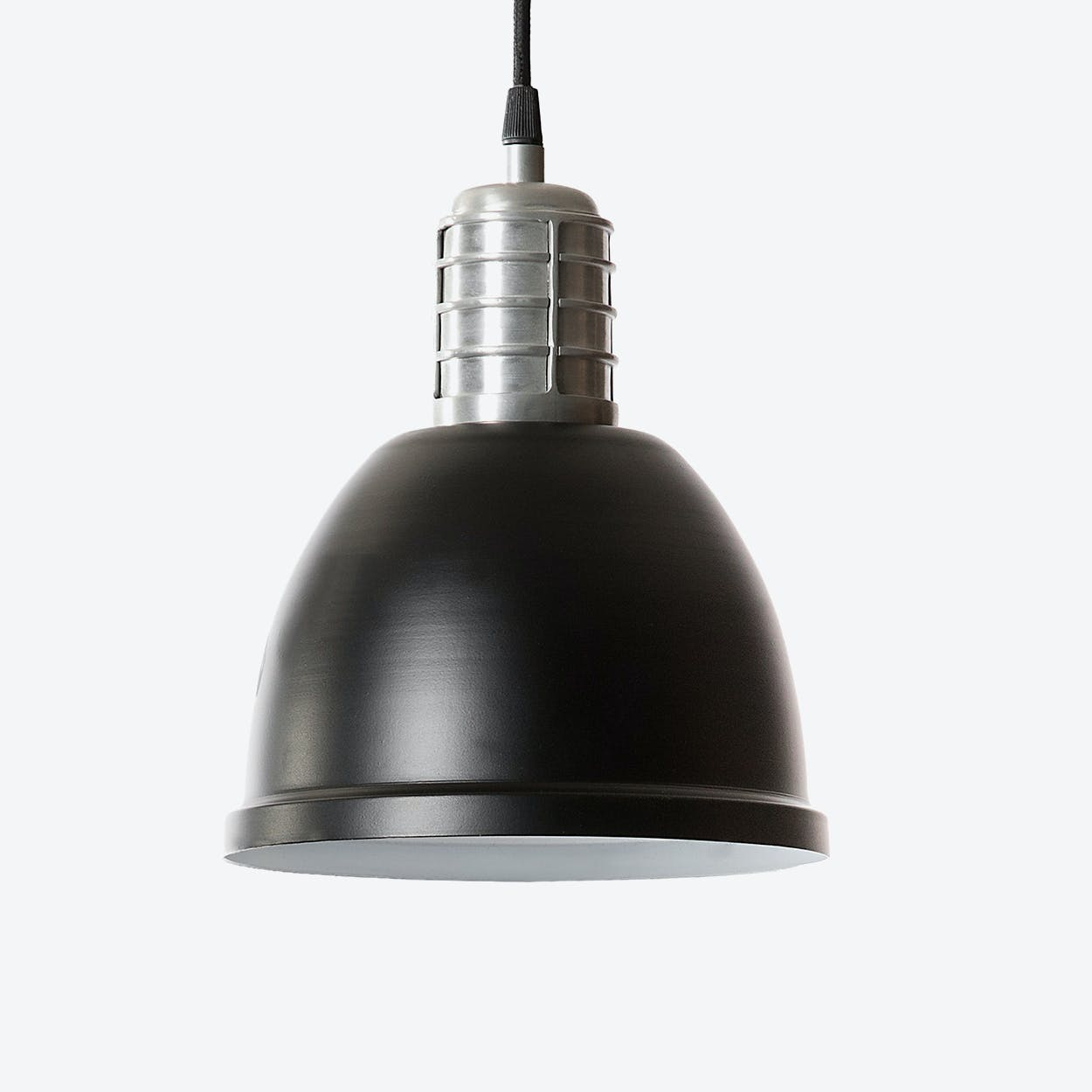 "Pendant Light ""Casdock"" in Black"