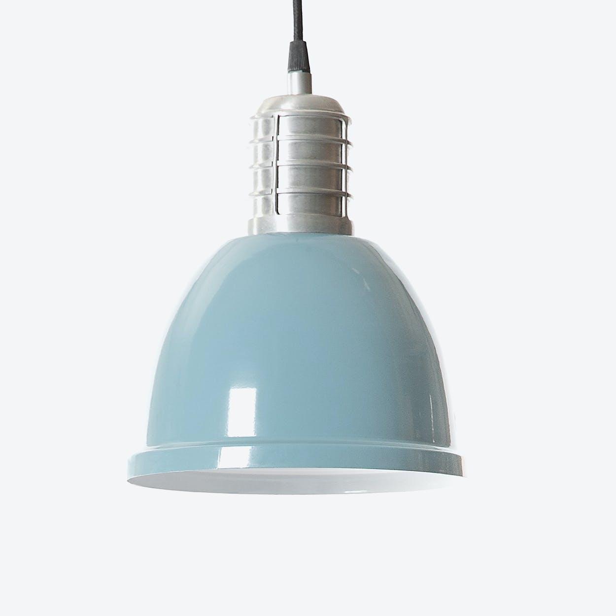 """Pendant Light """"Casdock"""" in Iron Blue"""