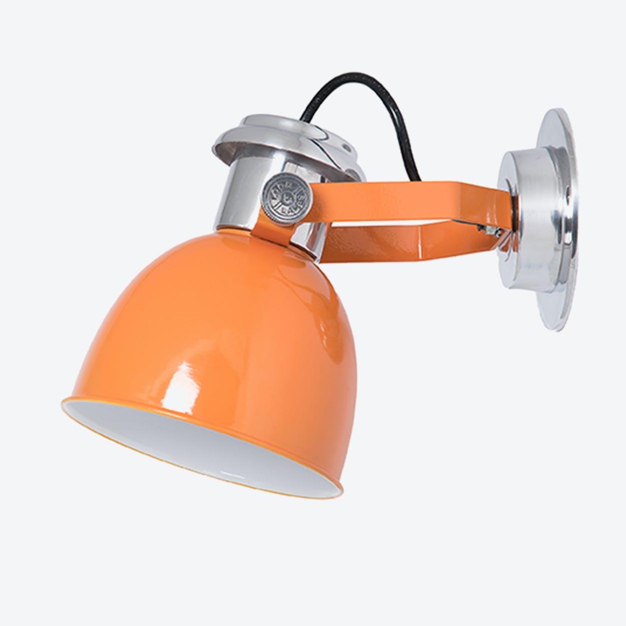 Wall Lamp New York Cylinder in Orange