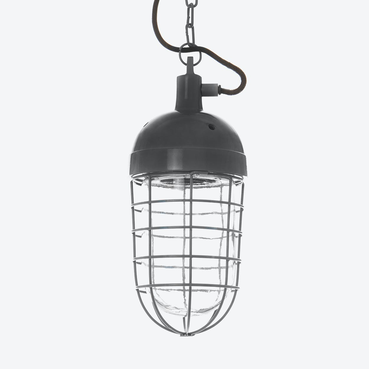 "Pendant Light ""Mining"" in Darkgrey"