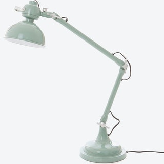 """Table Lamp """"Volcano"""" in Vintage Green"""