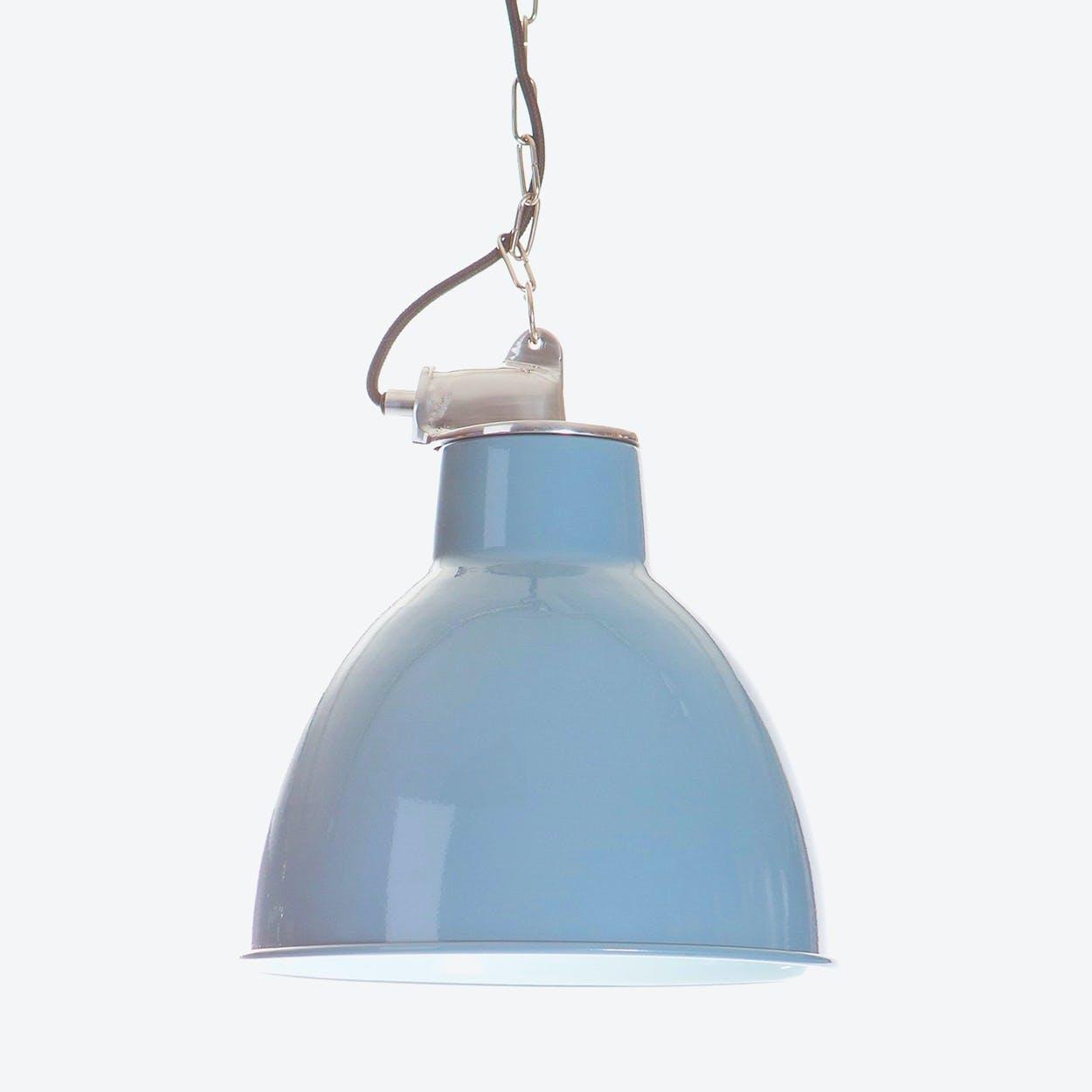 "Pendant Lamp ""Sealand"" in Iron Blue"